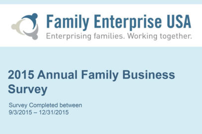 2015 Annual Family Business Survey